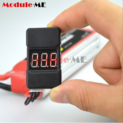 £1.64 • Buy BX100 Check 0.01V Tester Low Voltage Buzzer Alarm For 1-8S LiPo Battery RC374