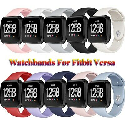 $ CDN5.50 • Buy Replacement Silicone Band Watchband Wristbands Bracelet Strap For Fitbit Versa