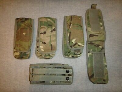 £3.99 • Buy British Army MTP Osprey SA80 X 5 Single Mag Pouch Supergrade Condition Paintball