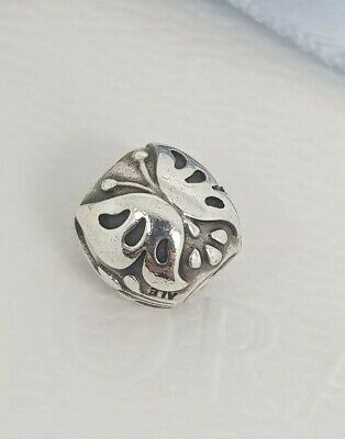 AU34.95 • Buy Authentic Pandora Sterling Silver Majestic Butterfly Charm Retired 790524