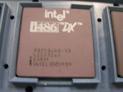 AU37.22 • Buy Intel A80486DX-33Mhz Gold Ceramic Processor Chip SX419 I486 A80486 80486 486 1pc