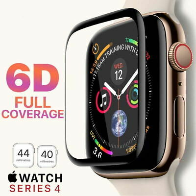 $ CDN3.39 • Buy 6D Tempered Glass Screen Protector For Apple Watch IWatch 4/3 2 1 38/40/42/44 Mm