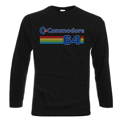 £21.58 • Buy Longsleeve COMMODORE 64 Game T SHIRT 100% Cotton Sizes S-5XL