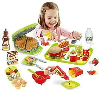£14.99 • Buy Electronic Cash Register Toy Till Pretend Play Shopping Basket Set Food Play