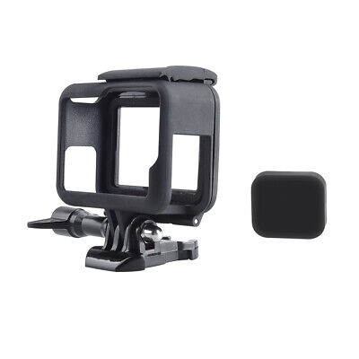 $ CDN9.94 • Buy Protective Housing Case Mount W/ Soft Lens Cap Frame For GoPro Hero 5 6 7 Black