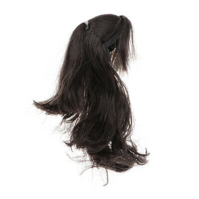 $15.19 • Buy 1/6 Head Sculpt Accessory Hairpiece For 12inch TTL Enterbay   Black