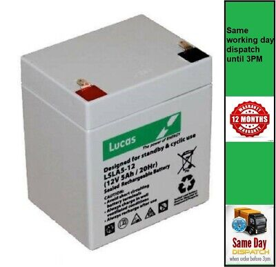 Hayter Lawnmower Replacement Battery, For Most Harrier 41 48 And 56 (see List) • 16.50£