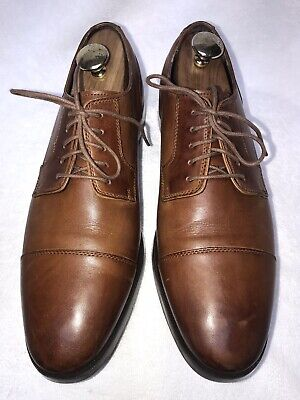 a87b6746be Cole Haan Grand.OS Jay Cap Mens Brown Oxford Shoes Sz 10M Worn Twice •