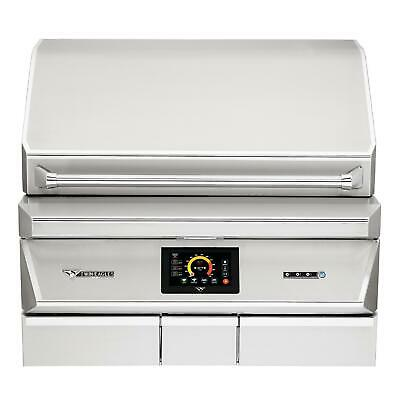 $6649 • Buy Twin Eagles 36-In Built-In Stainless Steel Pellet Grill & Smoker With Rotisserie