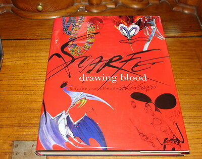 £59.99 • Buy Drawing Blood By Gerald Scarfe-signed Copy