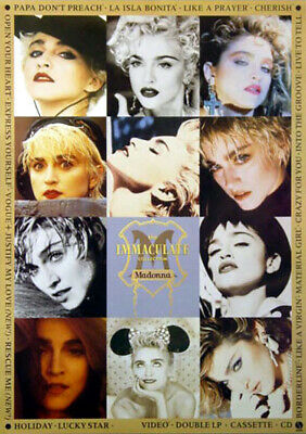 $12.99 • Buy Madonna - The Immaculate Collection (1990) Album Promo Poster, Original, Rolled