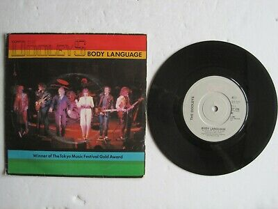 THE DOOLEYS - BODY LANGUAGE - 7  45 Rpm Vinyl Record • 4£