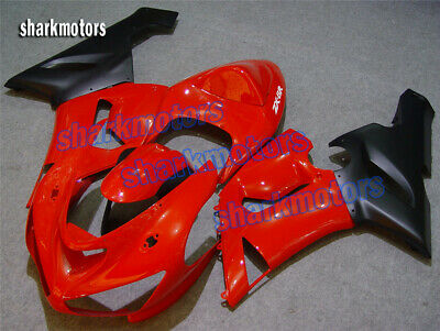 $454.24 • Buy Fairing Red Black Injection ABS Plastic Fit For Ninja 636 ZX-6R 2005-2006 TA1