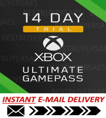 $1.48 • Buy XBOX LIVE 14 Day GOLD ULTIMATE + 14 DAY GAME PASS 2 WEEKS Instant Dispatch