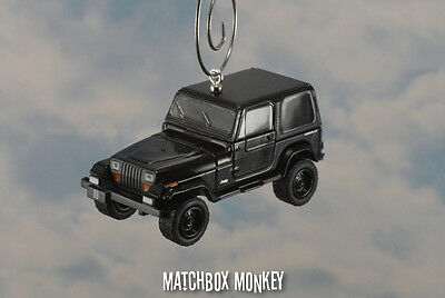 AU41.94 • Buy 1994 Jeep Wrangler Hard Top Custom Ornament 1/64 XJ YJ Black Out Sahara