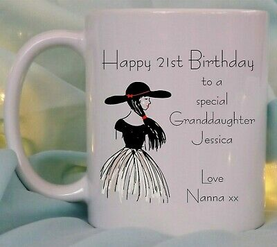 £7.95 • Buy Personalised Birthday Gift Mug For Her Girls Special Mam Sister Daughter Friend