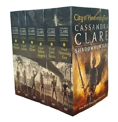 Cassandra Clare 6 Books Mortal Instruments 1-6 Teen SF Fantasy City Of Bones N • 17.99£