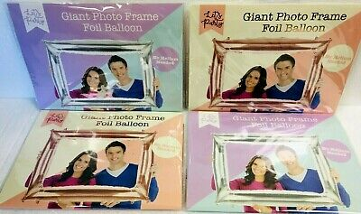 PHOTO FRAME BOOTH PROP GIANT INFLATABLE  Hen, Party, Wedding And Party Balloons • 3.99£