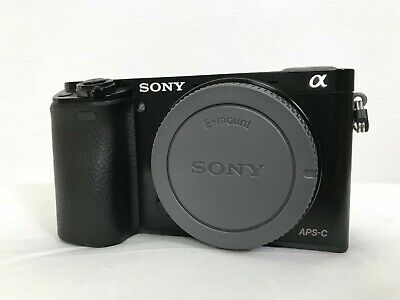 $ CDN642.24 • Buy SONY Alpha A6000 24.3 MP Digital Camera Colour Black Without Lenses TESTED