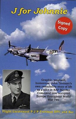 £10 • Buy WW2 RAF Bomber Command. Pilot's True Story Flying Mosquitoes + Wellingtons DFC*