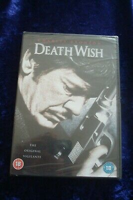 Dvd.death Wish.charles Bronson.winner.lange.classic Thriller.new Sealed. • 4.99£