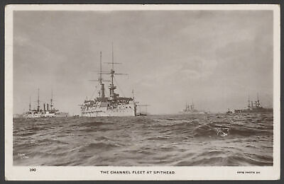 £12.50 • Buy Postcard. Royal Navy Review. The Channel Fleet At Spithead. 1907 Real Photo PC
