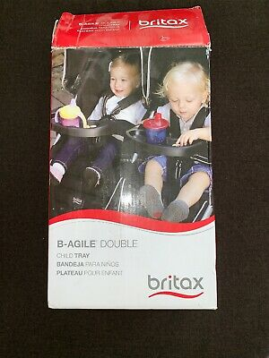 Britax B-Agile Double Stroller Child Snack Tray, NWOT , BABY,  • 8.68£
