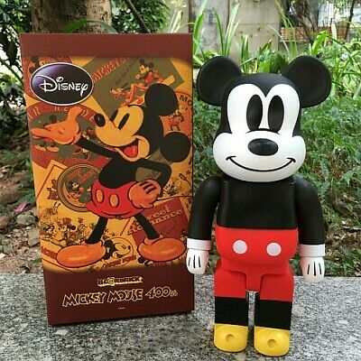 $89.99 • Buy Mickey Mouse Bearbrick Action Figure 400% Brick Cos Mickey Mouse Doll PVC AC
