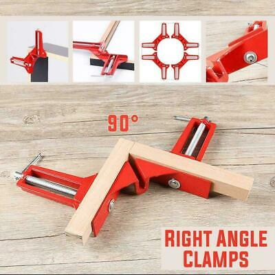 $4.95 • Buy Woodworking 90Degree Right Angle Picture Frame Corner Clamp Holder-Han Clip R2Y3
