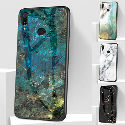 AU5.97 • Buy For Xiaomi Redmi Note 10 9T 9S 9 8T Pro 9A Marble Tempered Glass Case Hard Cover