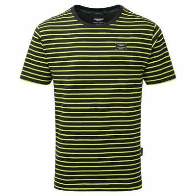 Aston Martin Racing Team Limited Edition T-Shirt 2019 Navy & Lime Green ADULT • 35£