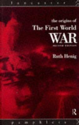 AU13.99 • Buy The Origins Of The First World War (Lancaster Pamphlets), Henig, Ruth, Used; Goo