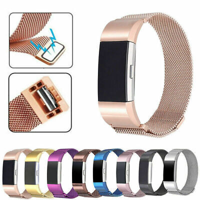 AU12.23 • Buy For Fitbit Charge 2 Steel Luxe Band Replacement Wristband Watch Strap Bracelets