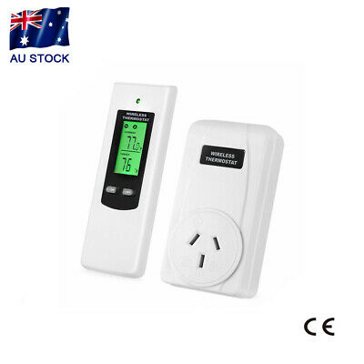 AU45.50 • Buy Smart Wireless Heating Thermostat Remote Control Temperature Controller AU Stock