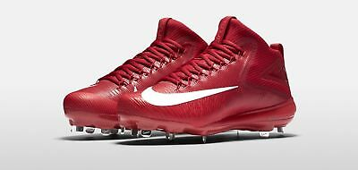 96f46d36ed2 Nike Force Trout 3 Pro Baseball Cleats-red -all Adult Sizes-retail  110