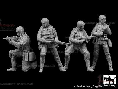 1/35 Resin Figures ~ US Navy SEALs Four Figure Set By Black Dog • 36.69£