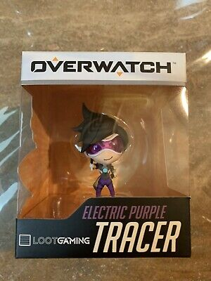 AU20 • Buy Overwatch Tracer Electric Purple Figure Loot Gaming Exclusive 2016