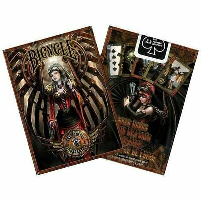 Anne Stokes Steampunk Playing Cards Goth Fantasy Art Full Deck Of Cards • 5.25£