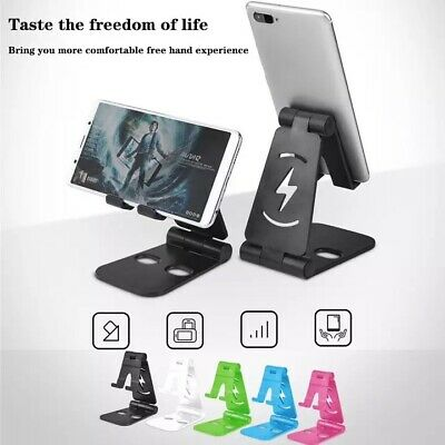 $4.95 • Buy Universal Foldable Desktop Desk Stand Holder Mount For Cell Phone And Tablet Pad