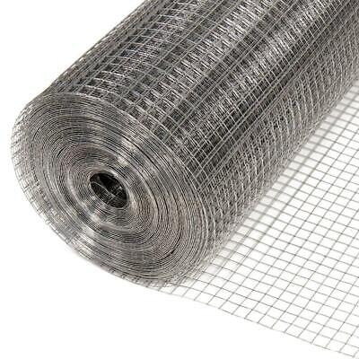 4mx.9m Square Mesh Wire Fencing Netting Pet Plant Crop Protection Enclosure 13mm • 16.29£
