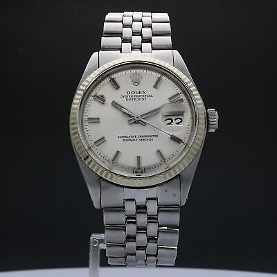 $ CDN4564.89 • Buy Rolex Oyster Perpetual Datejust 1601 36mm Auto SE202