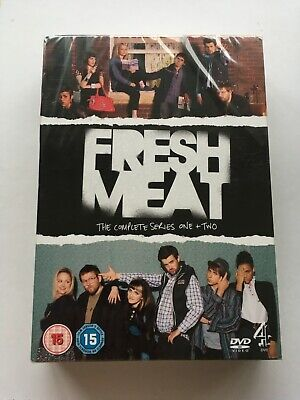 £5 • Buy BNIP Fresh Meat DVD The Complete Series One And Two 1 And 2