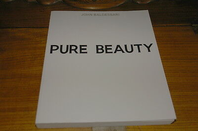 John Baldessari-pure Beauty By Jessica Morgan&leslie Jones-tate Catalogue • 39.99£