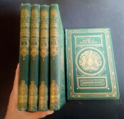 £56 • Buy  The Life And Works Of Lord Byron Illustrated Edition. Five Volumes ONLY