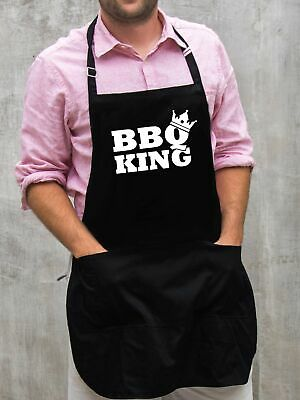 $22 • Buy BBQ King Apron / Funny BBQ Grilling Gift For Men - Dads & Grandpas