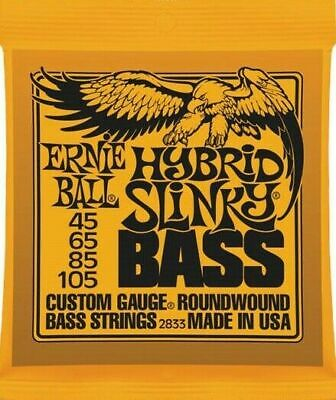 $ CDN23.60 • Buy Bass Guitar Strings Ernie Ball 2833 Set 45-105 Hybrid Slinky Gauge Round Wound