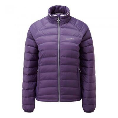 Craghoppers Womens Brindley Insulated Hiking Walking Down Jacket Plum Size 8 • 24.99£