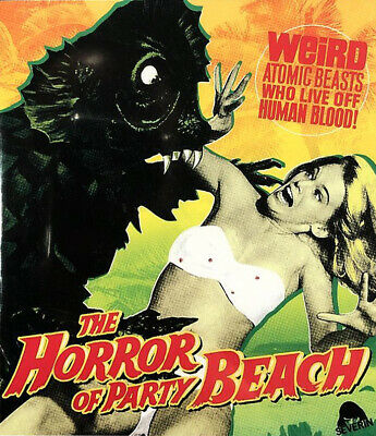 THE HORROR OF PARTY BEACH - Blu-ray - Cult Drive-In Horror - Uncut • 21.50£