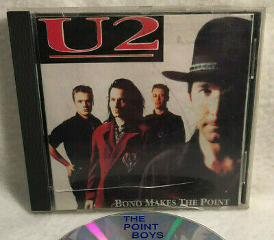 U2, Bono Makes The Point (Artery PBLBU2017) Canada CD - Unofficial Live • 17$