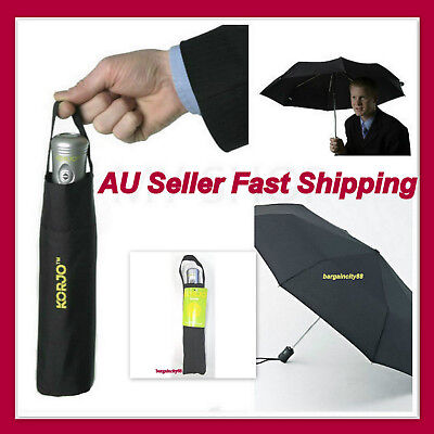 AU35.44 • Buy Upside Down Windproof Inverted Reverse Automatic Folding Umbrella With Carry Bag